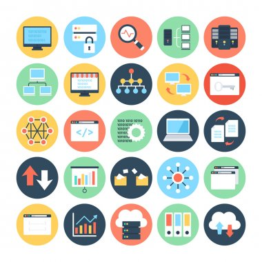 Data Science Vector Icons 2