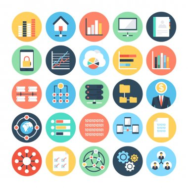Data Science Vector Icons 4