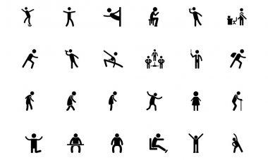Human Vector Icons 13