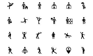 Human Vector Icons 11