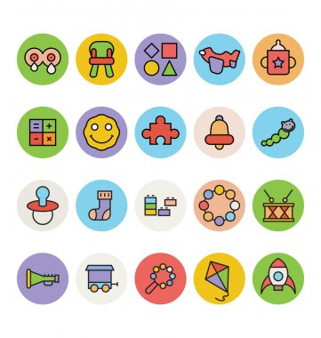 Baby Vector Icons 4