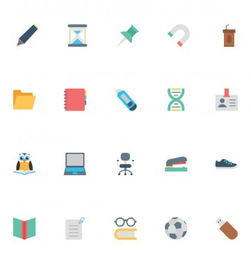 Celebrate the great gift of education with this Education Vector Icons Pack! Use these vector icons in your education, learning and school related projects. icon