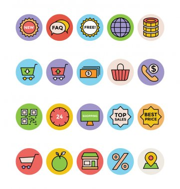 Shopping Vector Icons 5