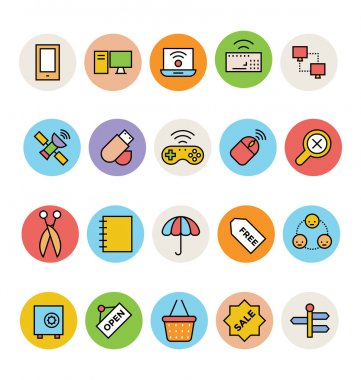 Here is a pack of Basic Vector Icons. Express your creativity and kick start your graphic design projects with these vector icons. icon
