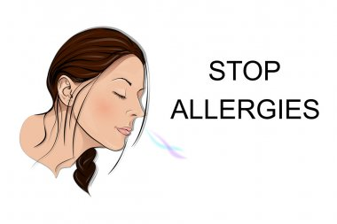 stop allergies. smell.