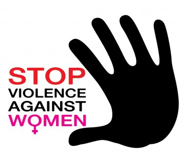 stop violence against women, illustration vector