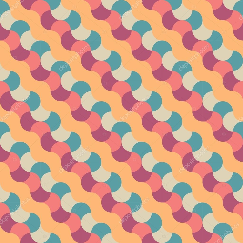 Vector Modern Seamless Colorful Geometry Pattern Candy