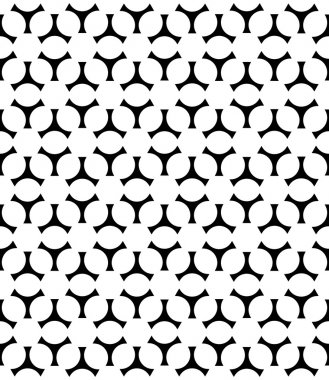 Vector modern seamless geometry christmas pattern snowflakes, black and white abstract geometric background, trendy print, monochrome retro texture, hipster fashion design clip art vector