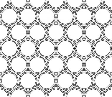 Vector modern seamless sacred geometry pattern web, black and white abstract geometric background, trendy print, monochrome retro texture, hipster fashion design