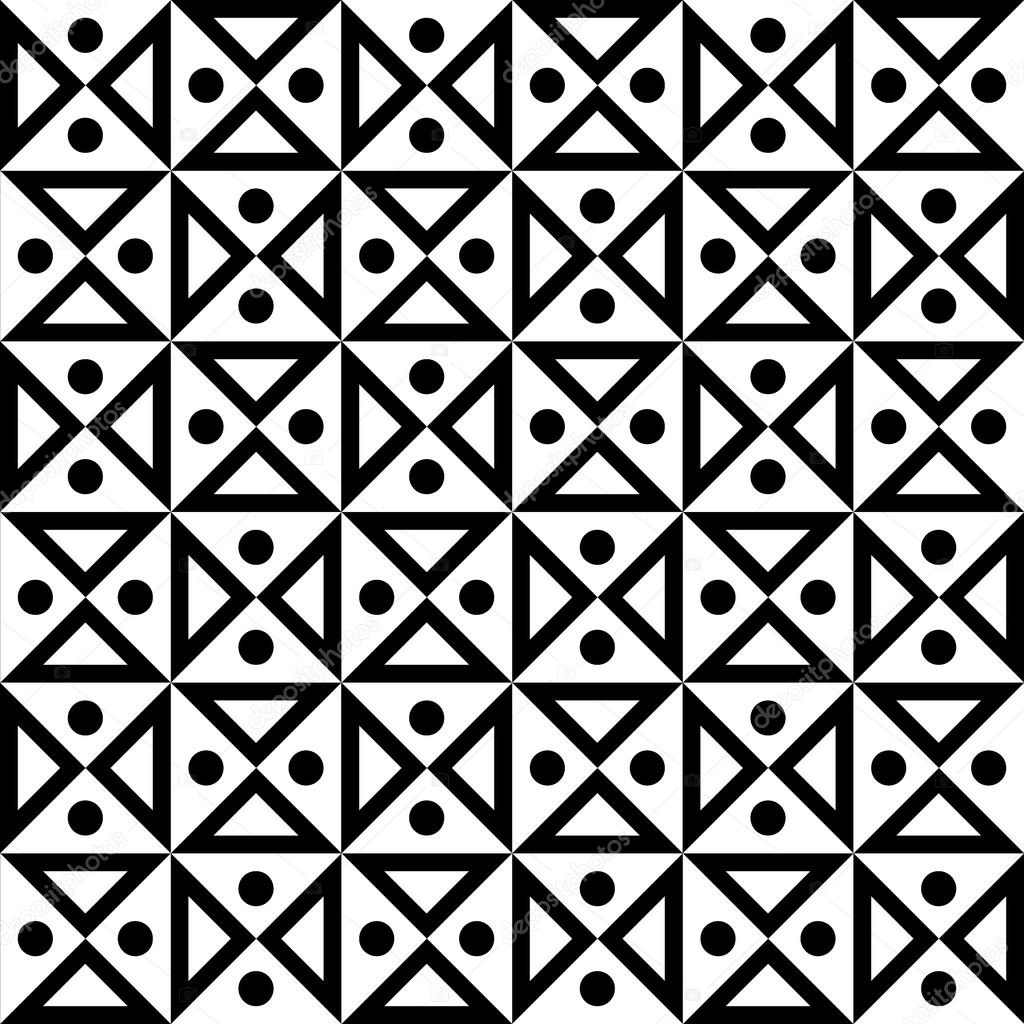 Vector De Moderno Geometría Reloj De Arena Blanco Y Negro Abstracto