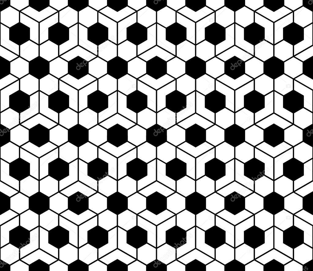 Vector de la moderna geometría sagrada sin fisuras patrón en forma ...
