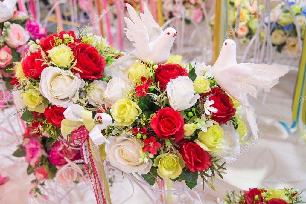 Kunstmatige rose voor huisdecoratie u stockfoto sorranop k