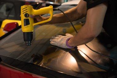 Technicians automotive films.