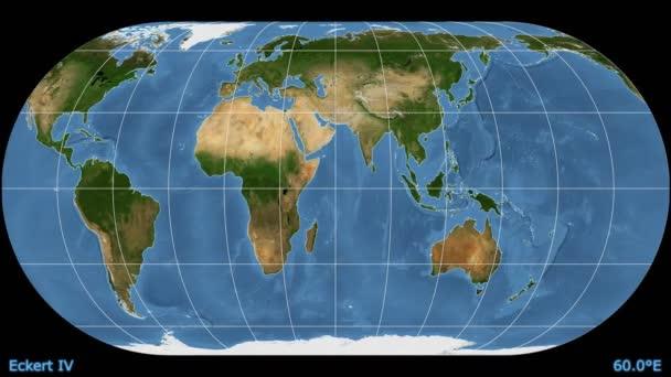 Animado el mapamundi proyeccin acimutal equidistante trama de animado el mapamundi proyeccin acimutal equidistante trama de mrmol azul vdeo de stock distortion patterns animated world map gumiabroncs Image collections