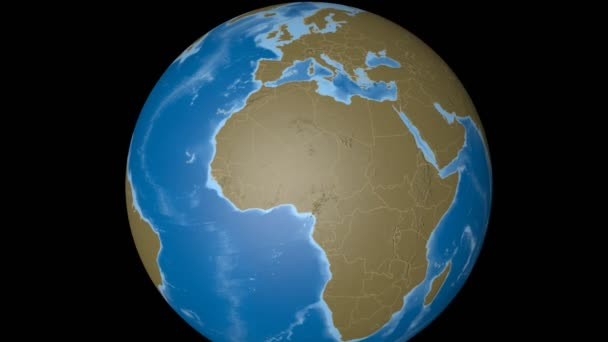 Algeria extruded. Bumps.