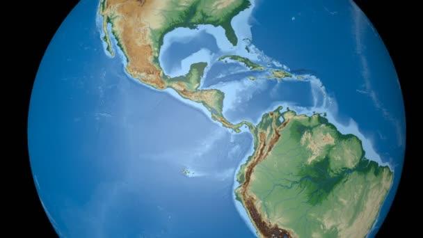 Guatemala extrudovala. Stínované hrboly.