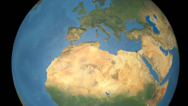 France extruded. Blue Marble.