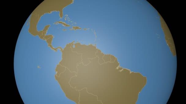 Venezuela extrudiert. Feststoffe.