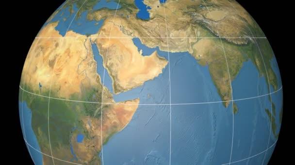 Jemen, extrudovaný. Modrý mramor. Rastr