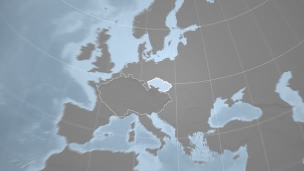 Česká republika a Globe. Hrboly
