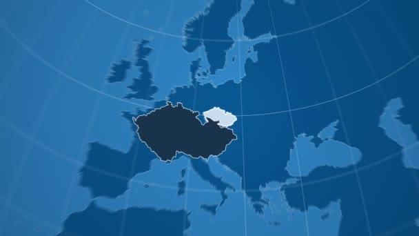 Česká republika a Globe. Tuhé látky