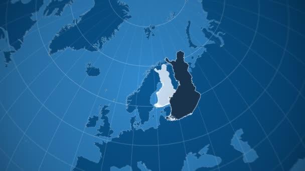 Finsko a Globe. Tuhé látky