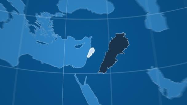 Libanon a Globe. Tuhé látky