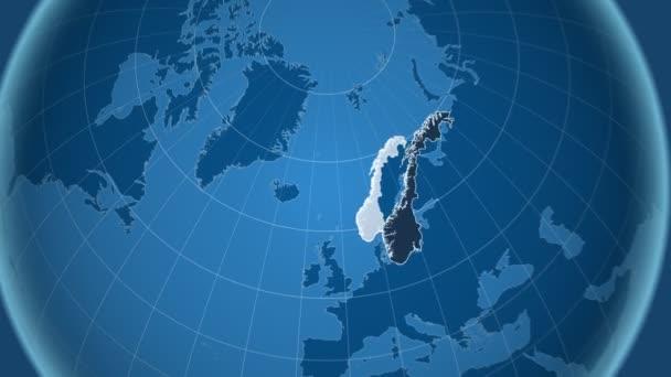 Norsko a Globe. Tuhé látky