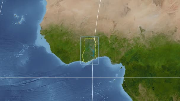 Ghana - 3D tube zoom (Kavrayskiy VII projection). Satellite on towns and villages in ghana, swedru ghana, city of ghana, apartments in ghana, satellite view of ghana, satellite map kenya, republic of ghana, district in volta ghana, food of ghana, capital of ghana, western ghana, eastern region ghana, akuse ghana, street view of ghana, aerial view of ghana, nzema ghana, volta region ghana, russia of ghana, fashion of ghana, village of ghana,