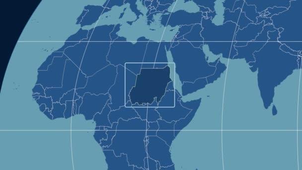 Sudan - 3D tube zoom (Kavrayskiy VII projection). Solids