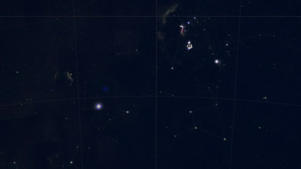 Constellation of Antlia. Galaxy space imagery