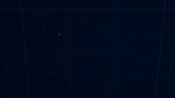 Constellation of Dorado. Tycho Catalogue