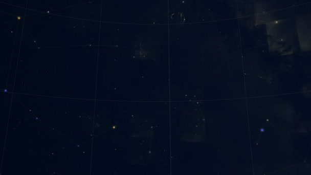 Constellation of Grus. Galaxy space imagery