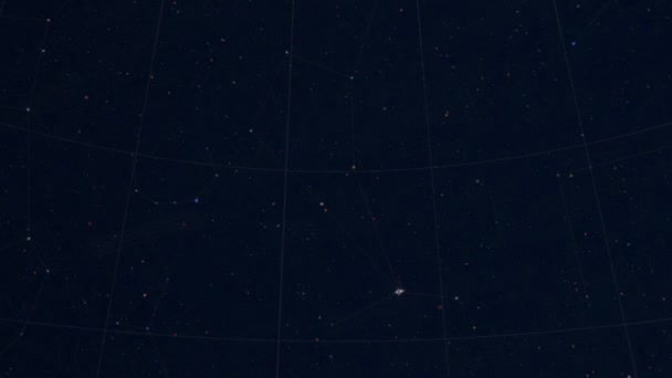 Constellation of Lyra. Galaxy space imagery