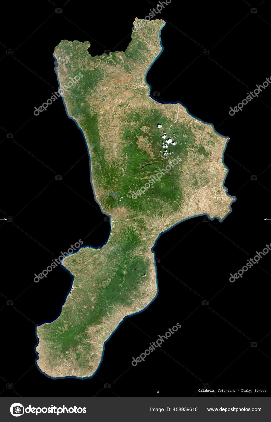 Regione Calabria Cartina Politica.Foto Cartina Della Calabria Immagini Cartina Della Calabria Da Scaricare Foto Stock Depositphotos