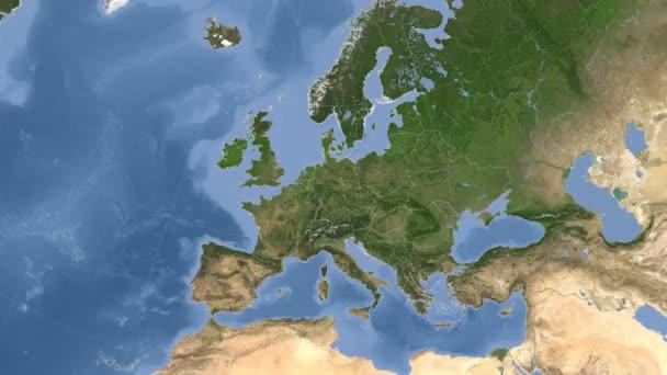 Německo bylo uvedeno a zářil. Sousedství. Satelitní