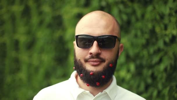 Portrait of man with beard