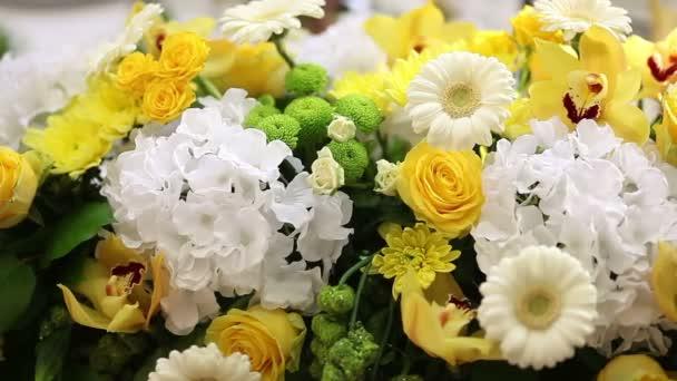 Flowers all around