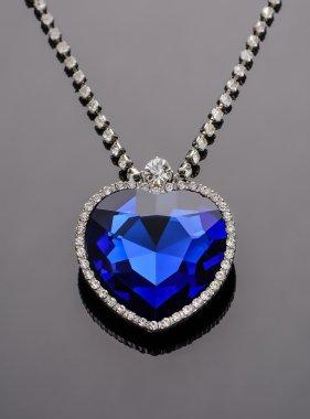 Heart of the ocean. Sapphire