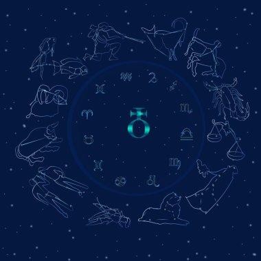 Astrological background.