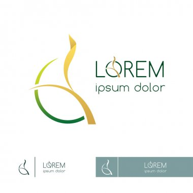 Logo for agriculture company or environmental organization, template