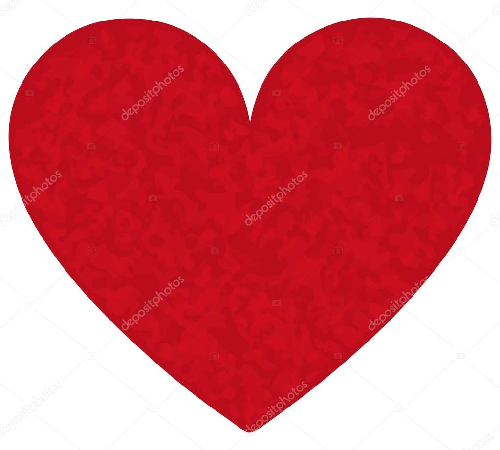 gros coeur rouge avec des taches image vectorielle hrynkokatsiaryna 96091588. Black Bedroom Furniture Sets. Home Design Ideas