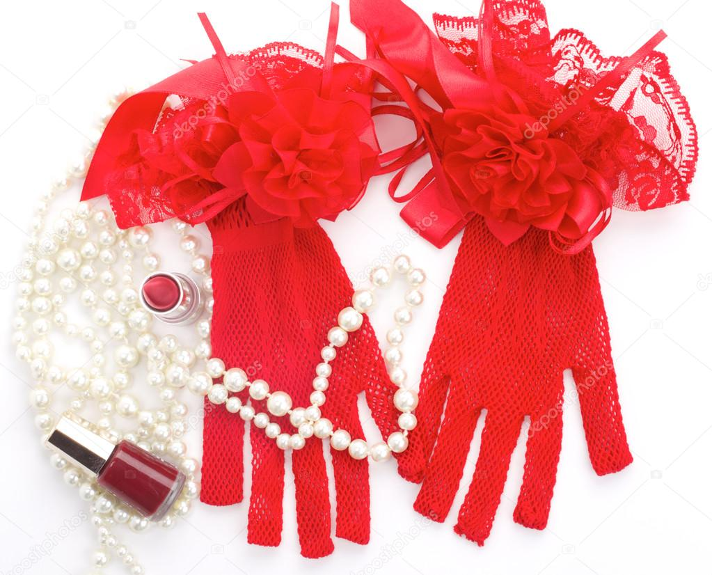 3c199279d4f Valentine s Day romantic accessories — Stock Photo ...