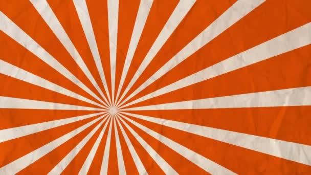 Pozadí rotující paprsky oranžová