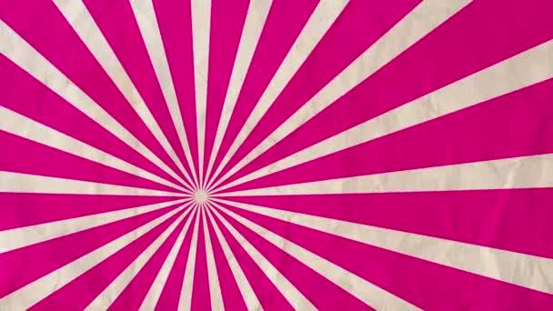 Pozadí rotující paprsky purpurová-červená