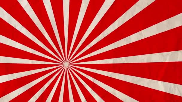 Background rotating rays Red