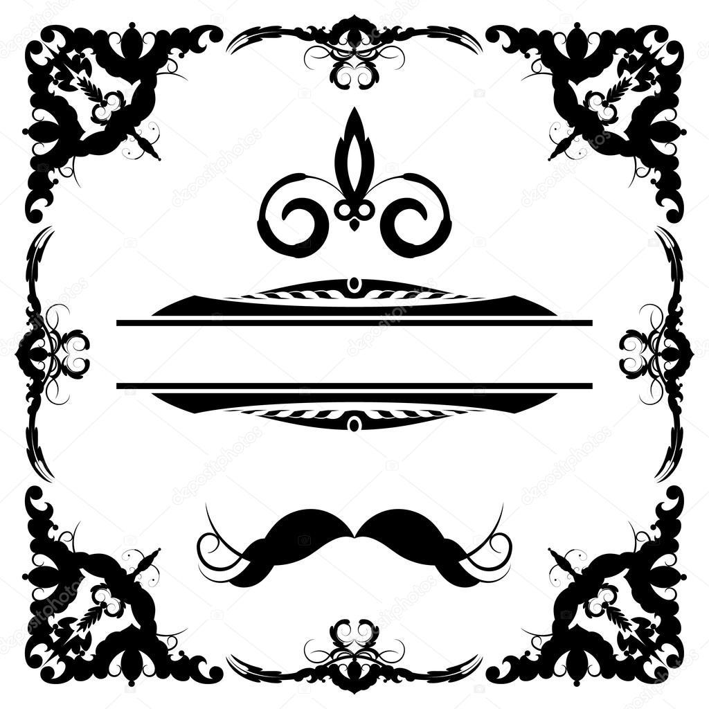 Vintage set decoraci n elementos de men elegancia de edad mano dibujo s archivo im genes - Elementos de decoracion ...