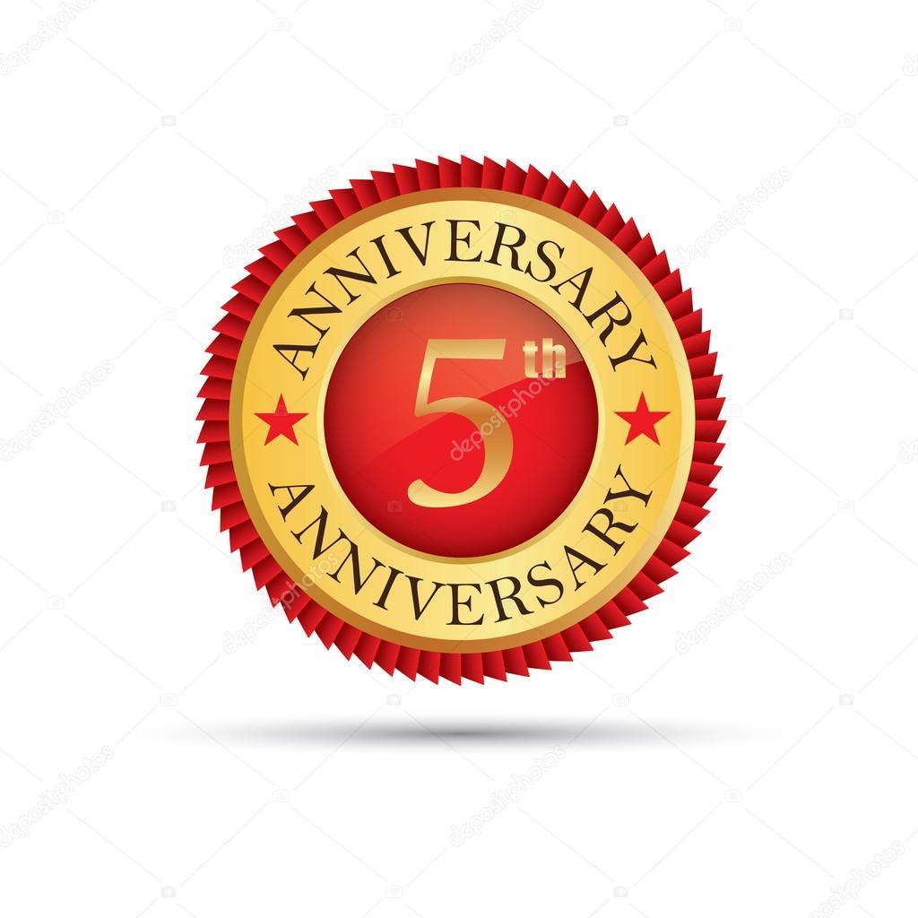 5 years anniversary logo stock vector mantinov 104732496 5 years anniversary logo stock vector biocorpaavc Choice Image