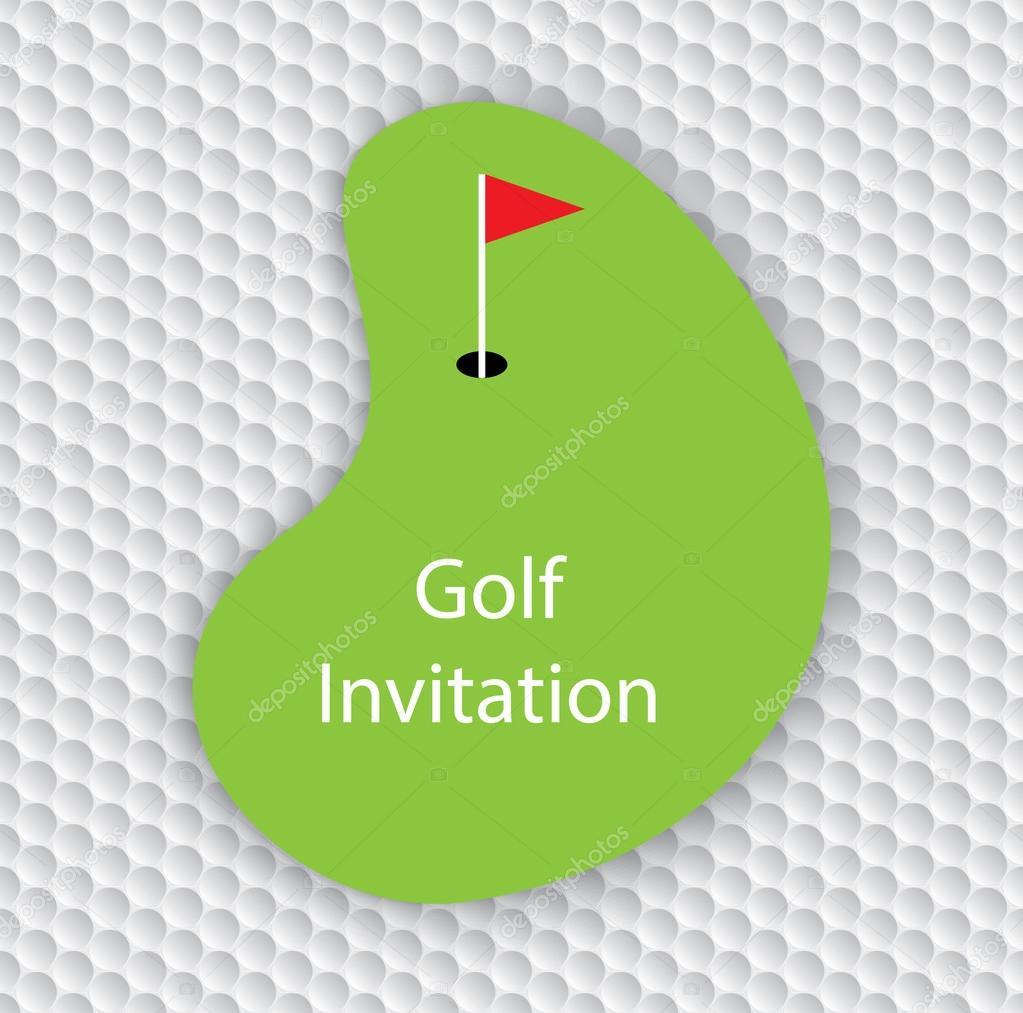 Golf invitation flyer card stock vector mantinov 114903056 golf invitation flyer card stock vector stopboris Choice Image