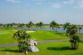 Krásné golfové hřiště v Thajsku